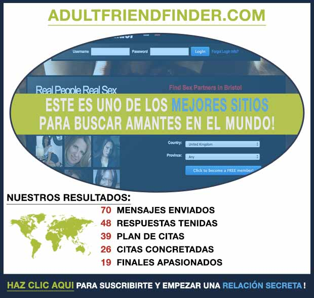 Una vista previa de AdultFriendFinder.com