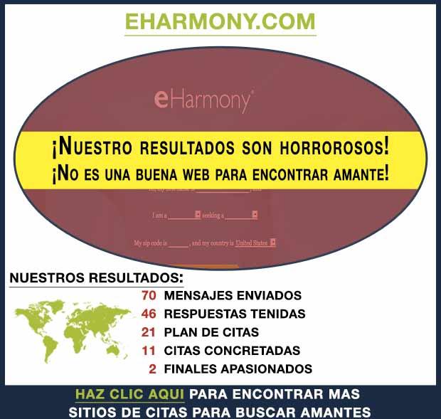 Una vista previa de eHarmony.com
