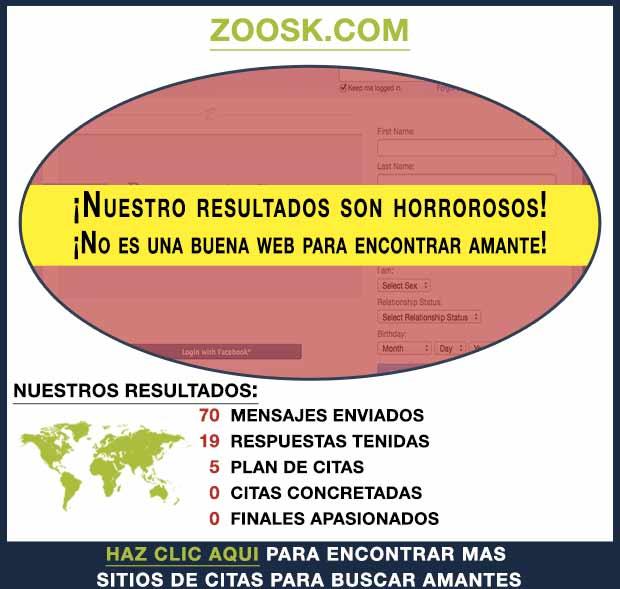 Una vista previa de Zoosk.com