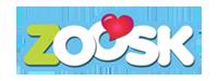 Zoosk logo del mundo